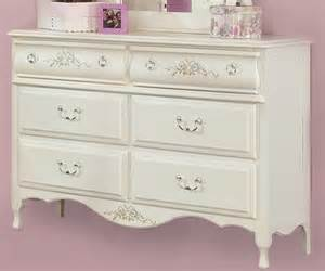 White Double Wide Dresser