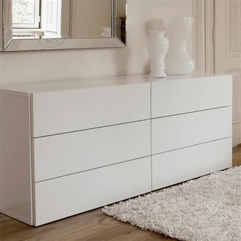 Picture of: White Drawer Contemporary Dresser