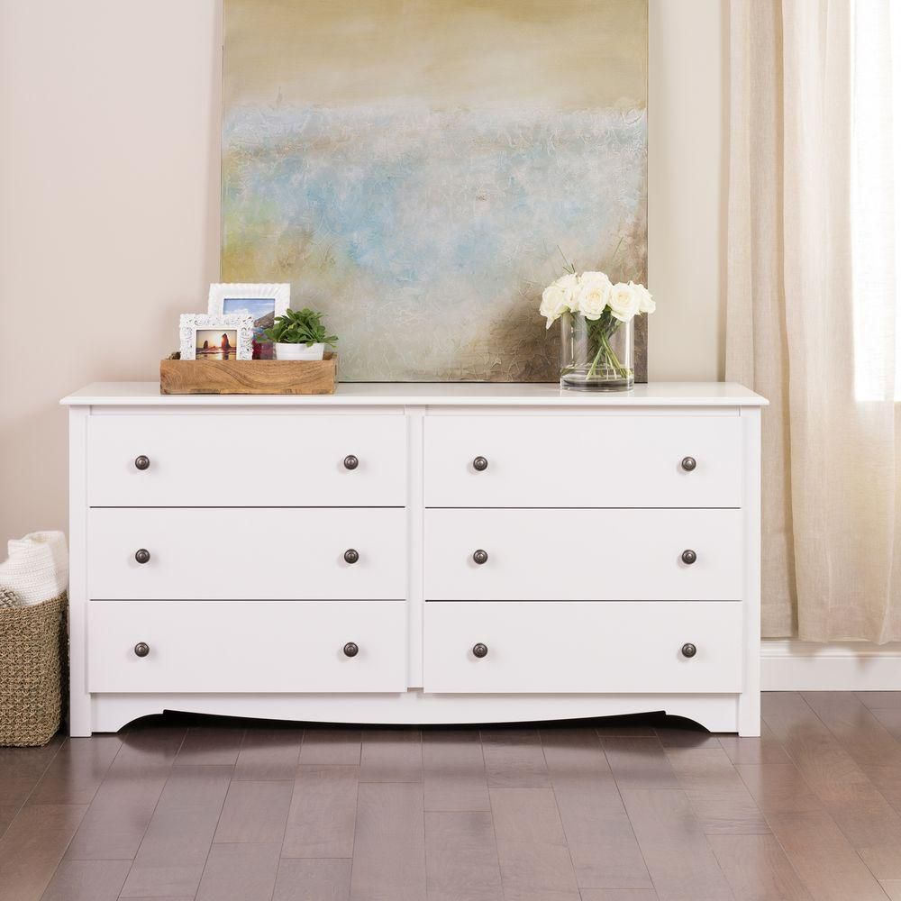Picture of: White Drawer Nice Dresser