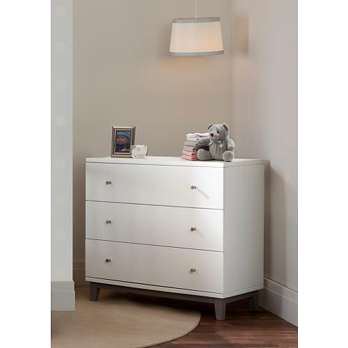 White Dresser 3 Drawer