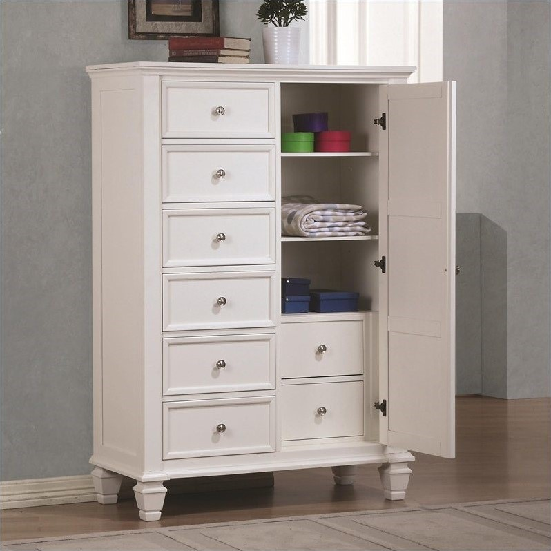 Picture of: White Dresser and Armoire