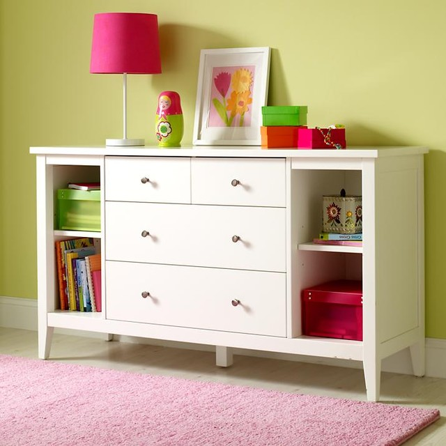 Picture of: White Dresser for Baby
