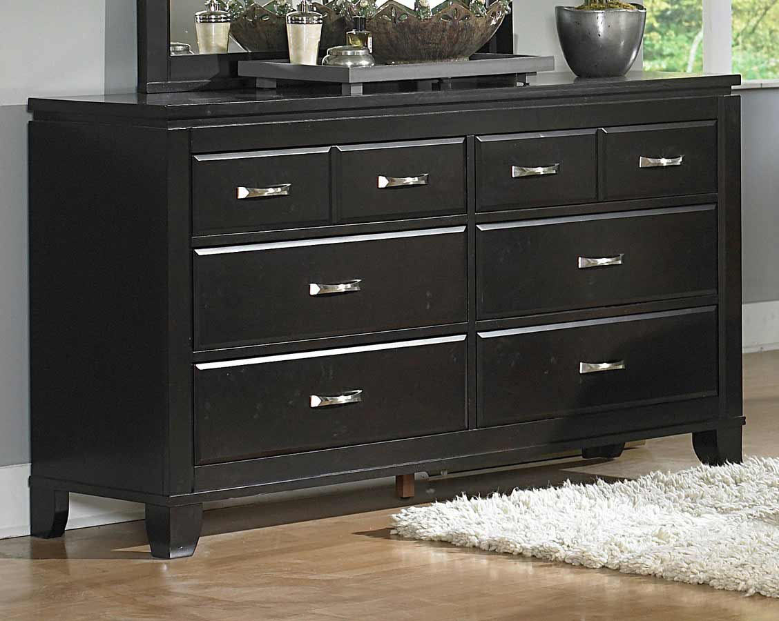 Image of: White Lacquer Tall Dresser Ideas