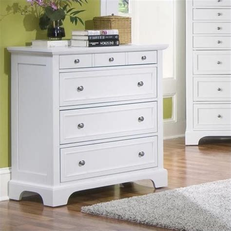 Picture of: White Narrow Drawer Dresser