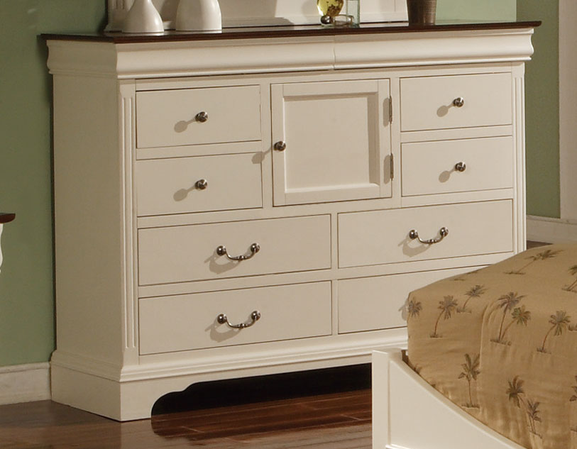 Image of: White Tall Dresser Ikea Bedroom