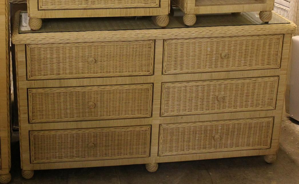 Image of: Wicker Trunks For Storage