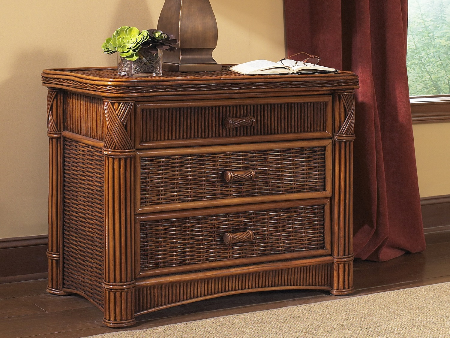 Image of: Wicker Trunks