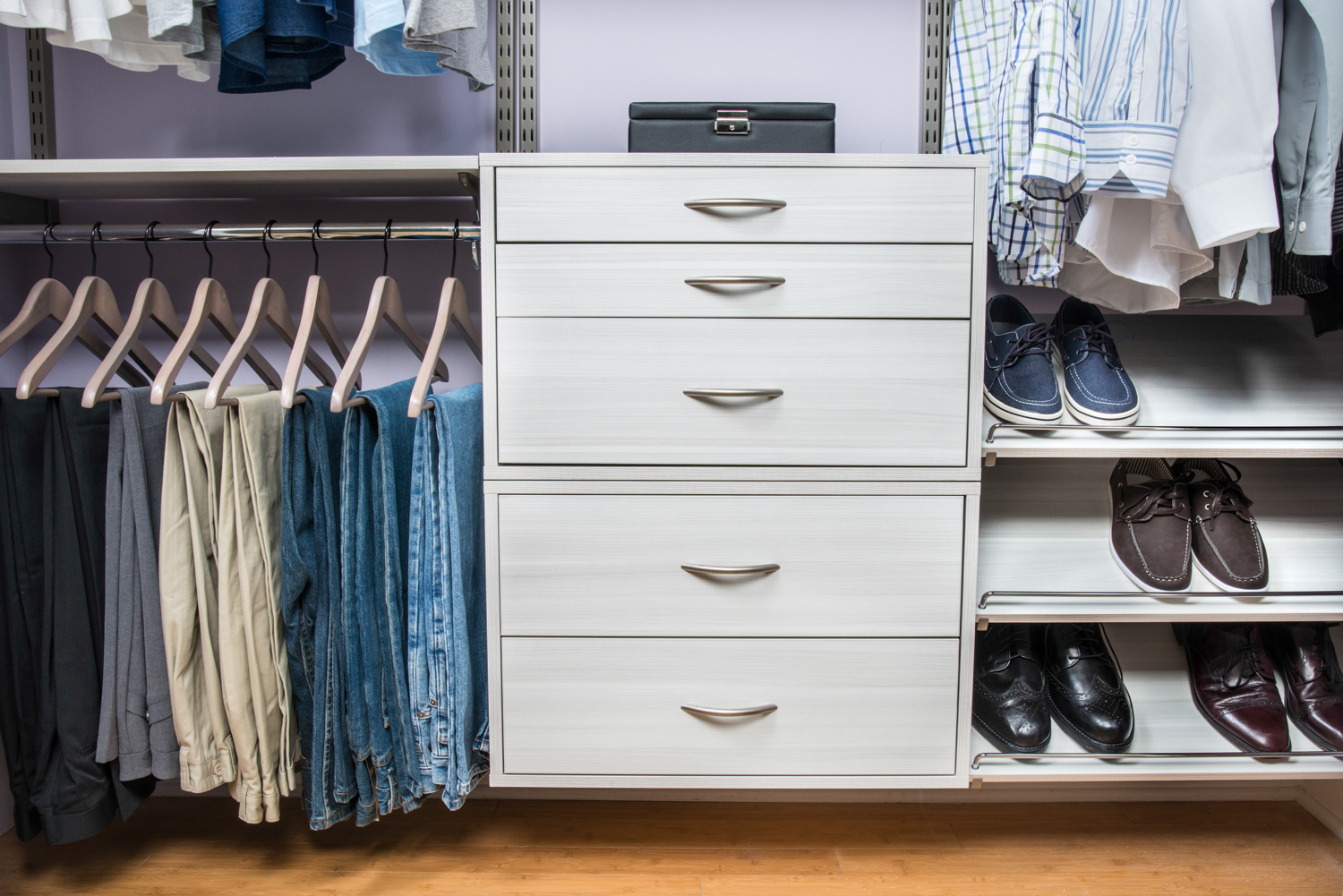 Wood Closet Organizers Shoes
