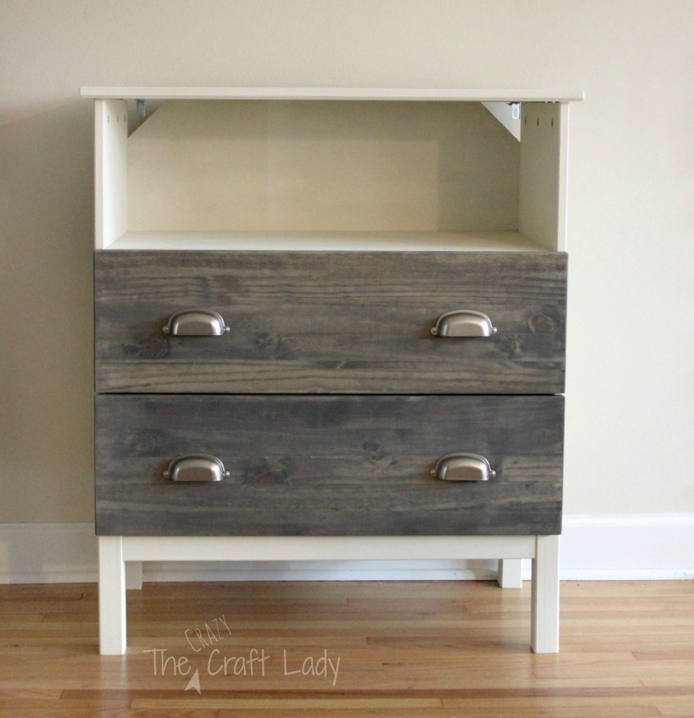 Picture of: Modern Ikea Tarva 3 Drawer Chest