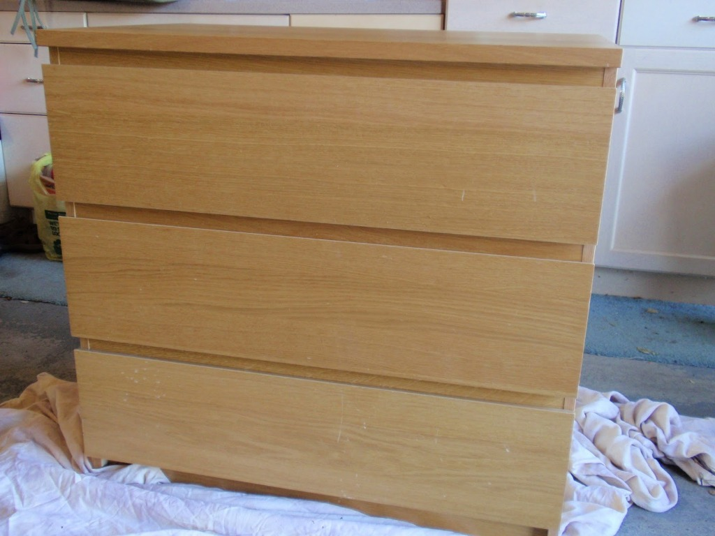 Picture of: Ikea Malm 3 Drawer Dresser Style