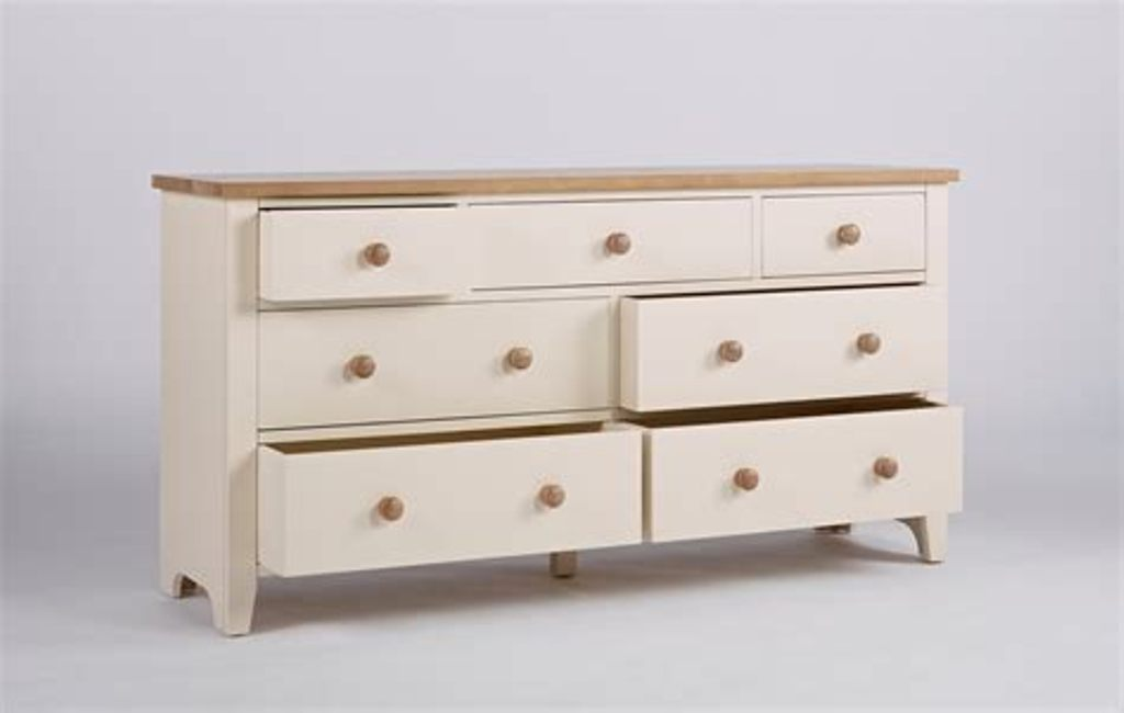 Image of: Ivory Chest Of Drawers