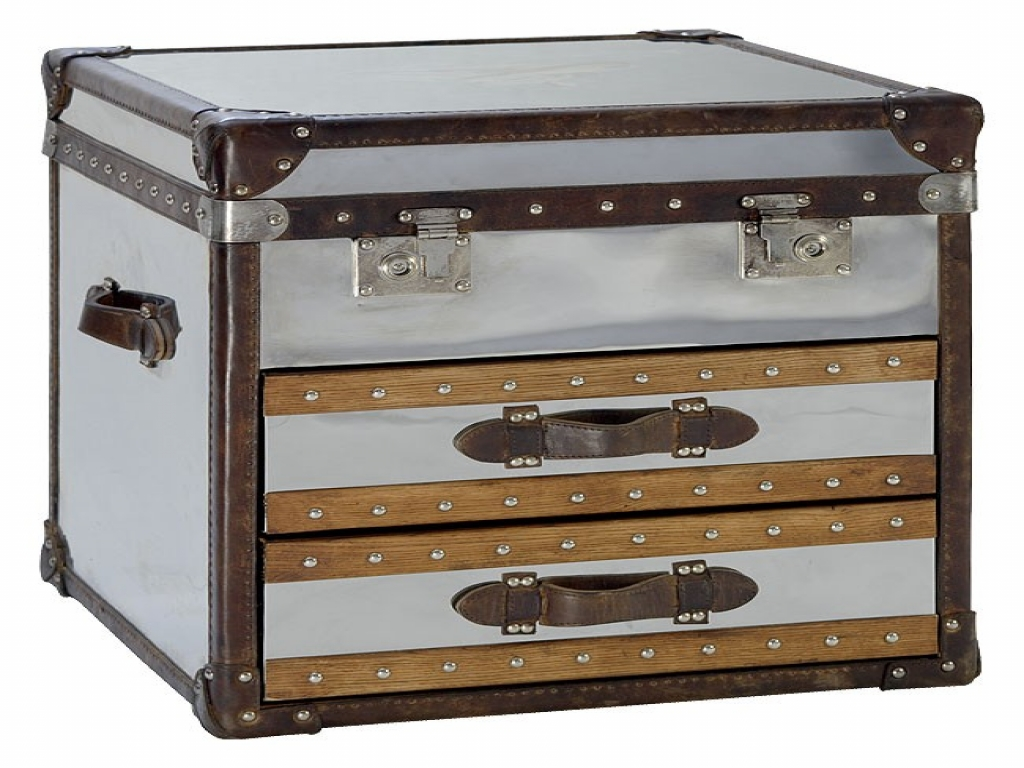 Picture of: Steamer Trunk Chest Of Drawers