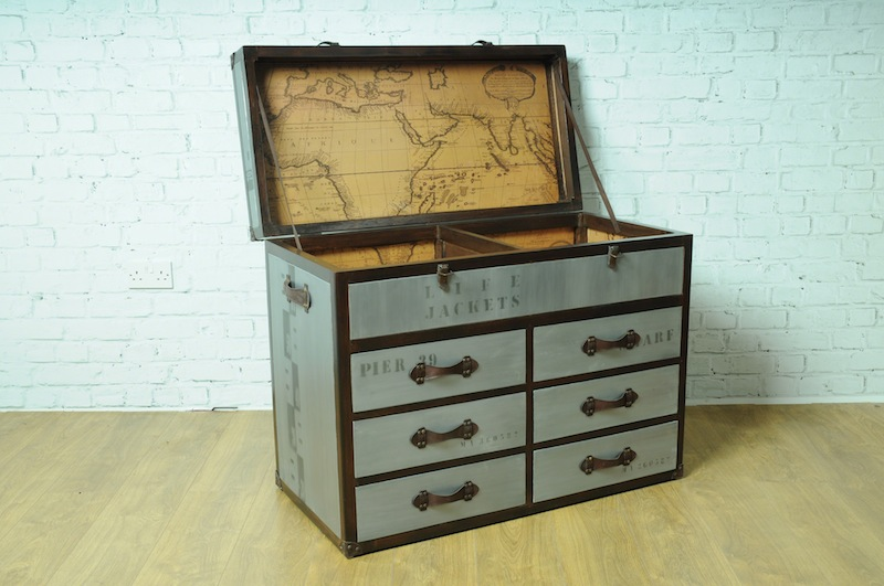 Picture of: Trunk Chest Of Drawers