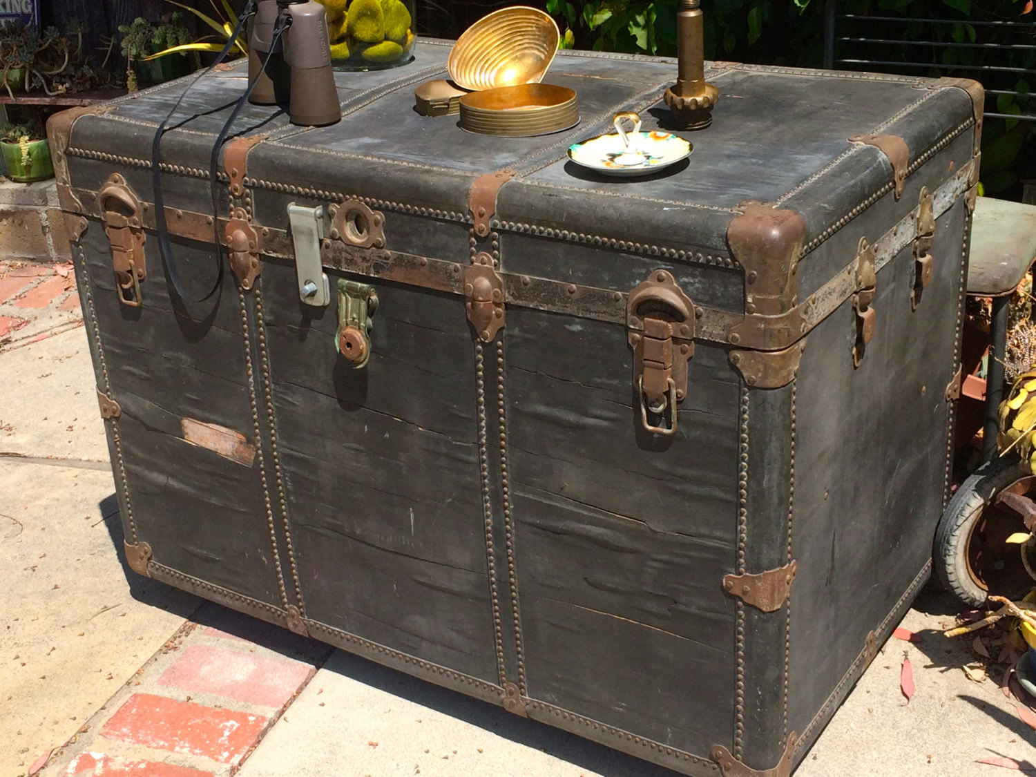 Picture of: Vintage Trunk Dresser