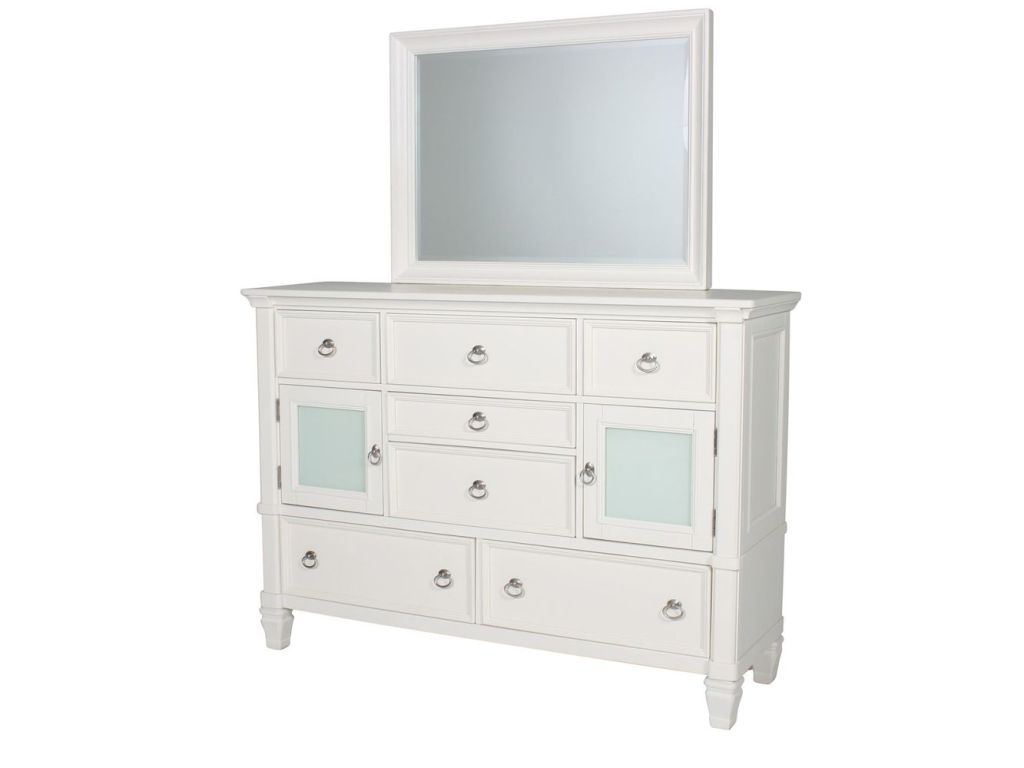 Ashley Furniture White Dresser With Mirror