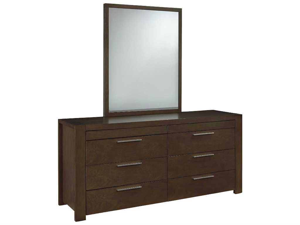 Picture of: Drawer Dresser With Mirror