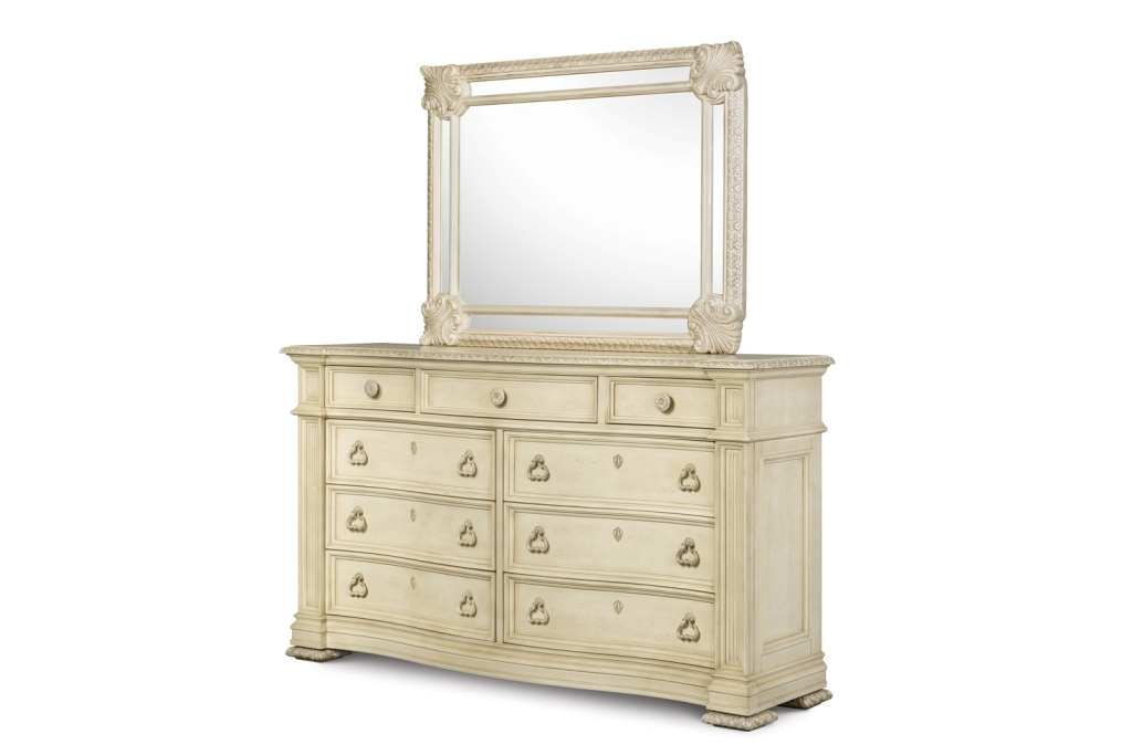 Picture of: Dresser Drawer With Mirror Decorations