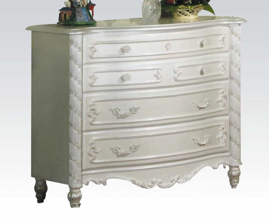 Picture of: Gold Accent Dresser