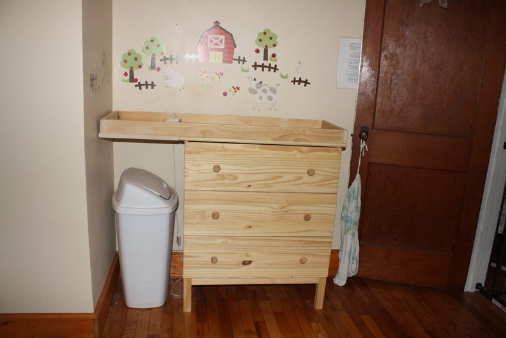 Picture of: Hemnes Changing Table Top