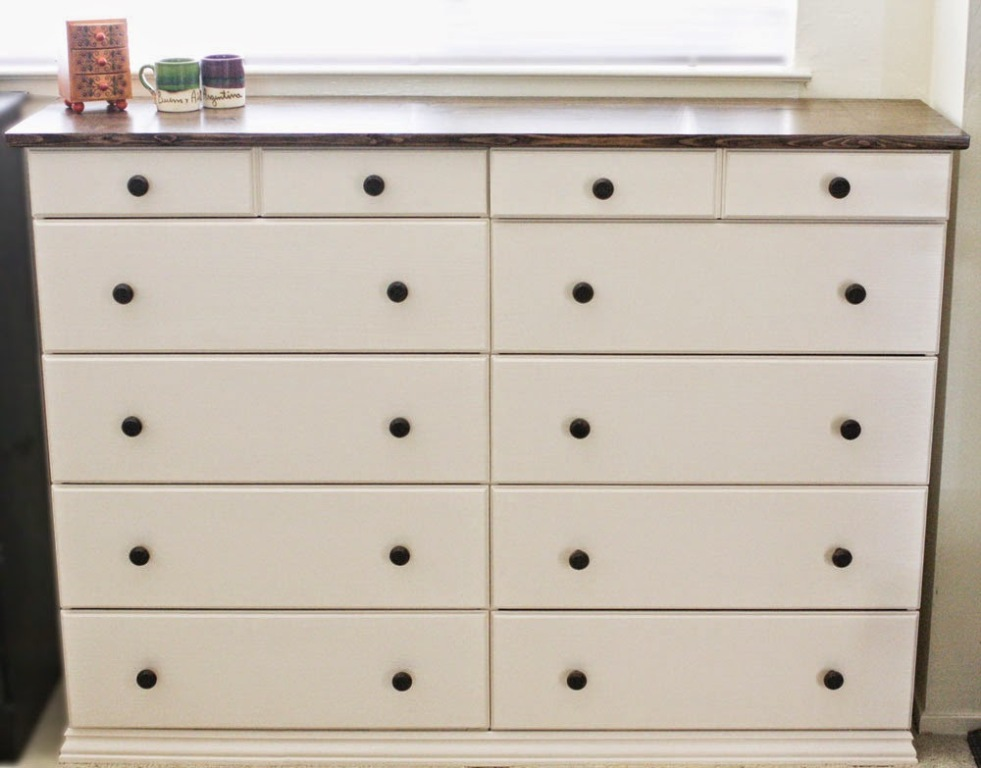 Picture of: Modern Hemnes Dresser