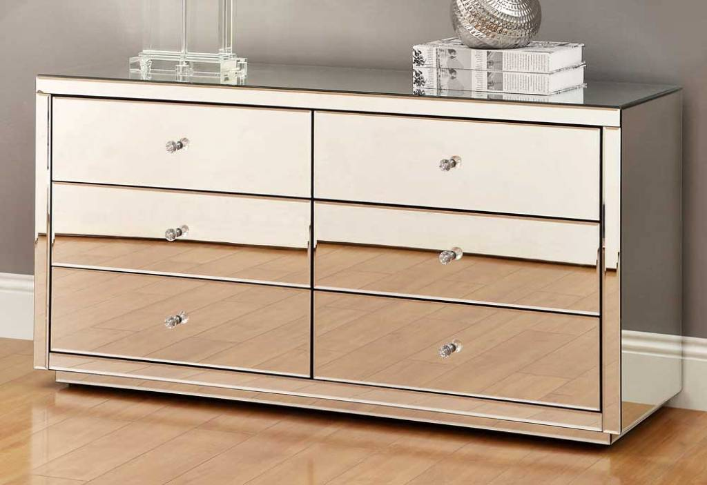 How To Make Mirrored Dresser