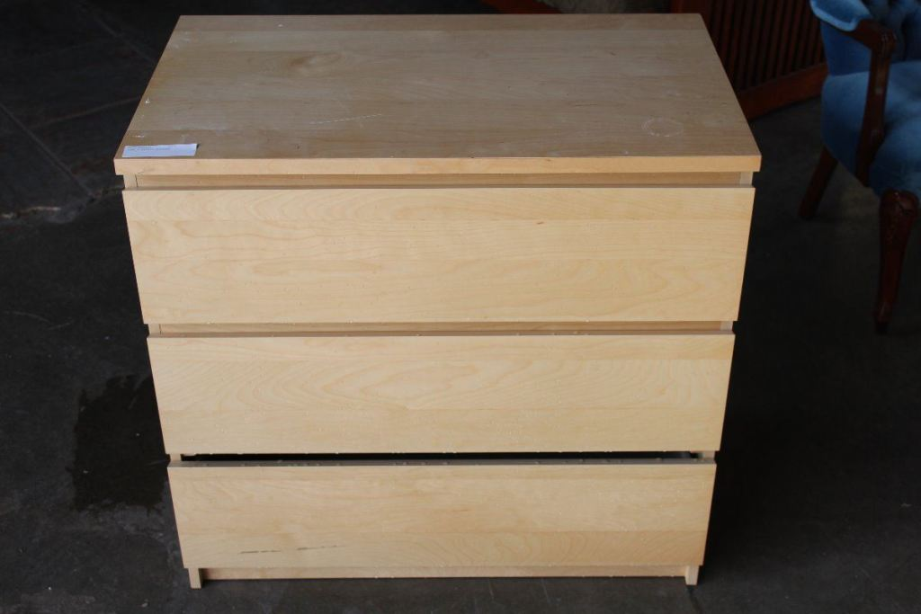 Picture of: Ikea 3 Drawer Dresser