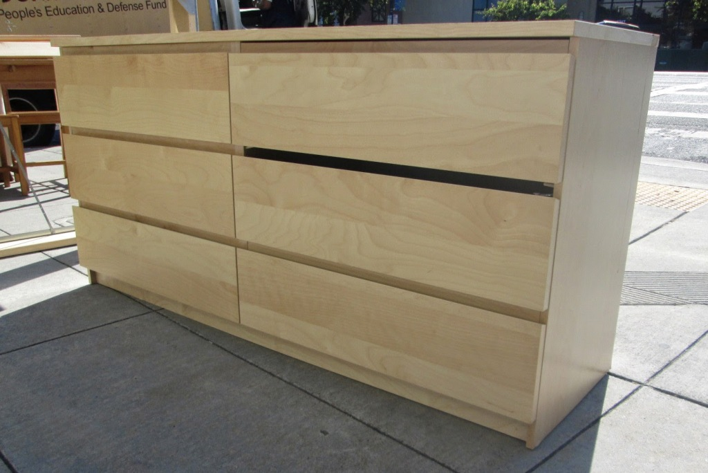 Picture of: Ikea 6 Drawer Dresser