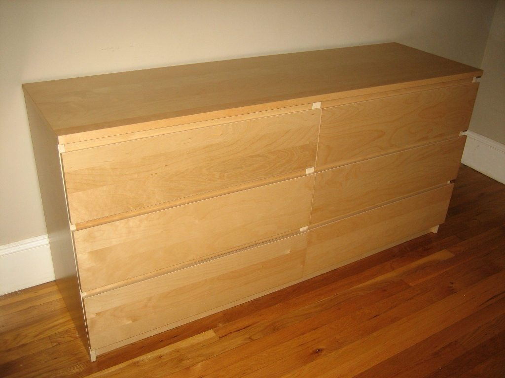 Image of: Ikea Dresser Hemnes 6 Drawer