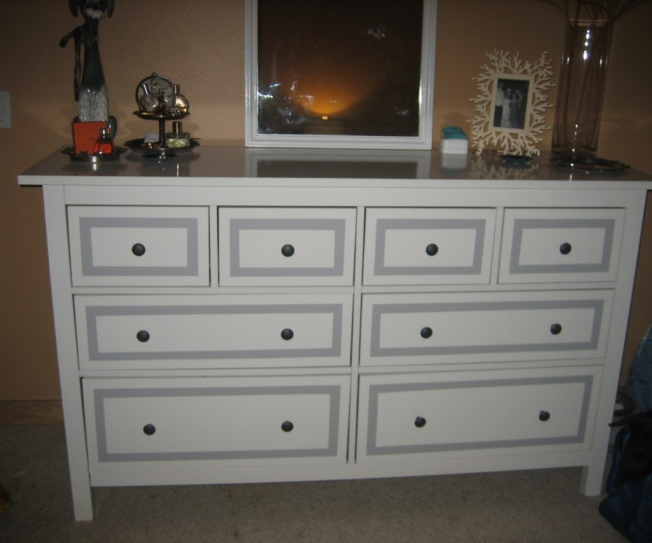 Image of: Ikea Hemnes 8 Drawer Dresser Dimensions