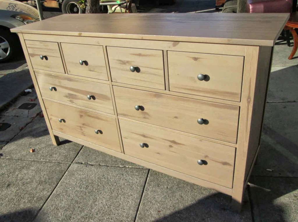 Image of: Ikea Hemnes 8 Drawer Dresser