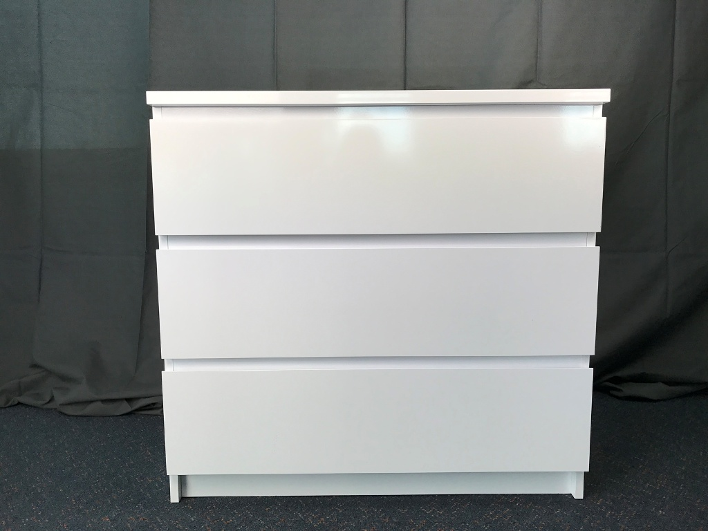 Picture of: Ikea Malm 3 Drawer Dresser Picture