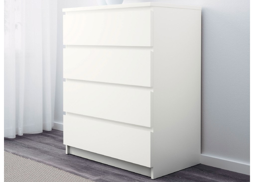 Picture of: Modern Ikea Malm 4 Drawer Dresser Ideas
