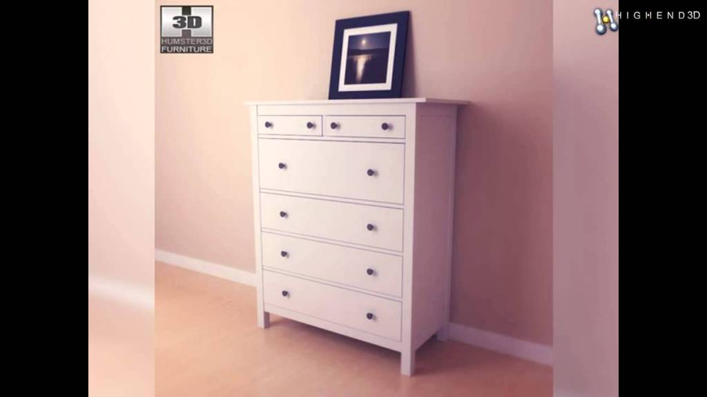 Ikea White Dresser 8 Drawer