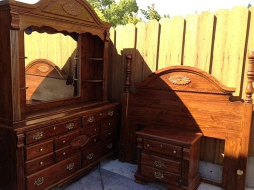 Picture of: Large Dresser With Mirror