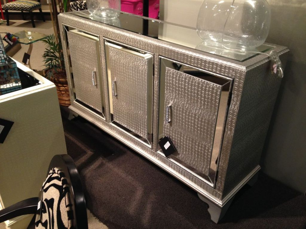 Picture of: Mirrored Cabinet Furniture