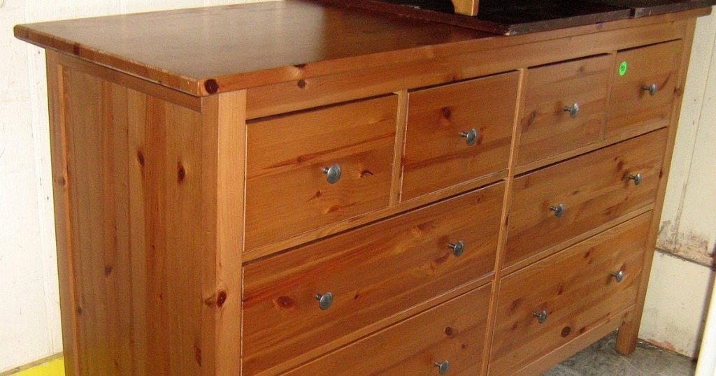 Picture of: Modern Unfinished Pine Dresser Ikea