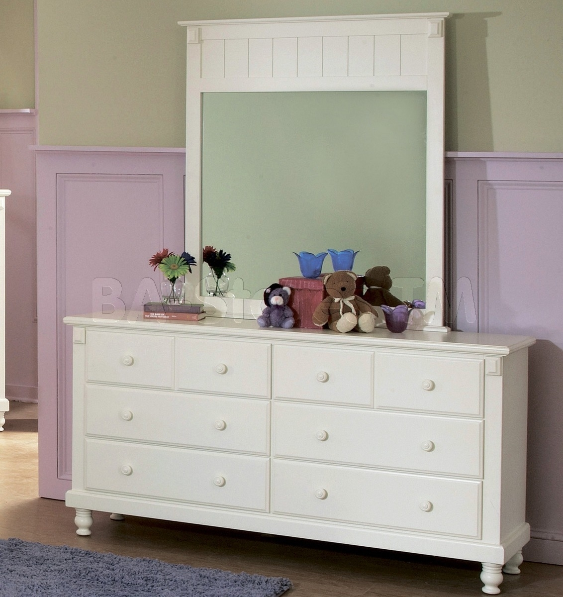 Picture of: Affordable Mirrored Dresser