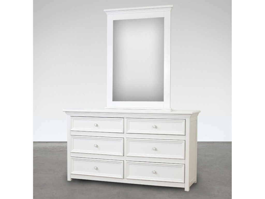 Picture of: Popular 6 Drawer Dresser With Mirror