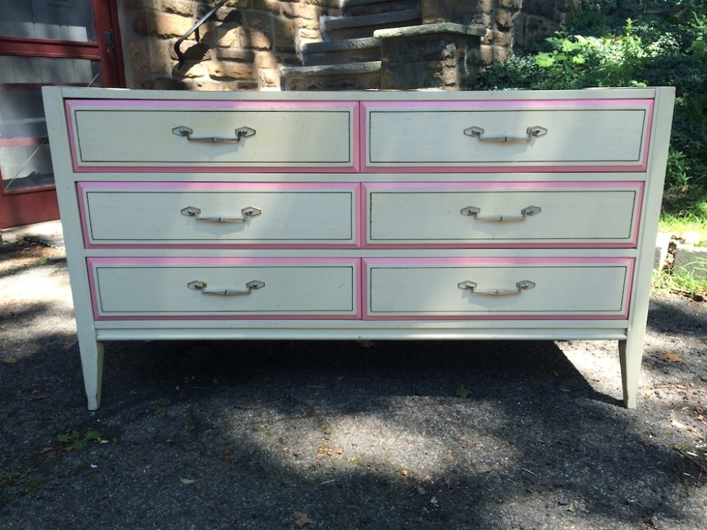 Picture of: 6 Drawer White Dresser Clearance