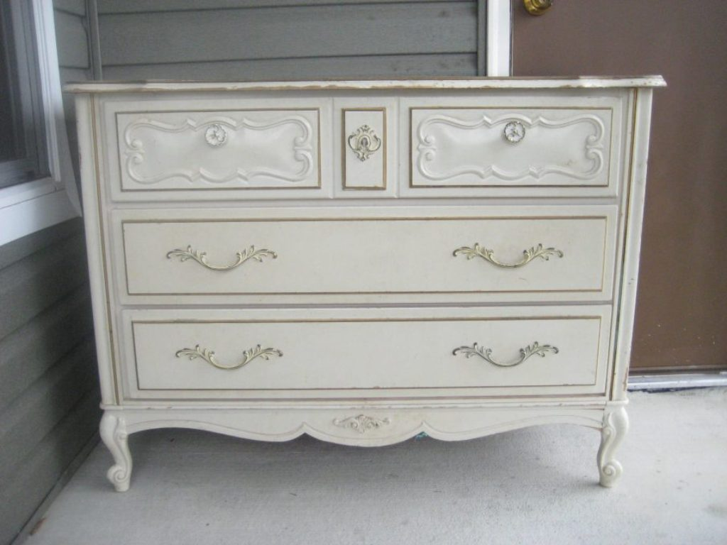 Antique White Dresser Drawers Ideas