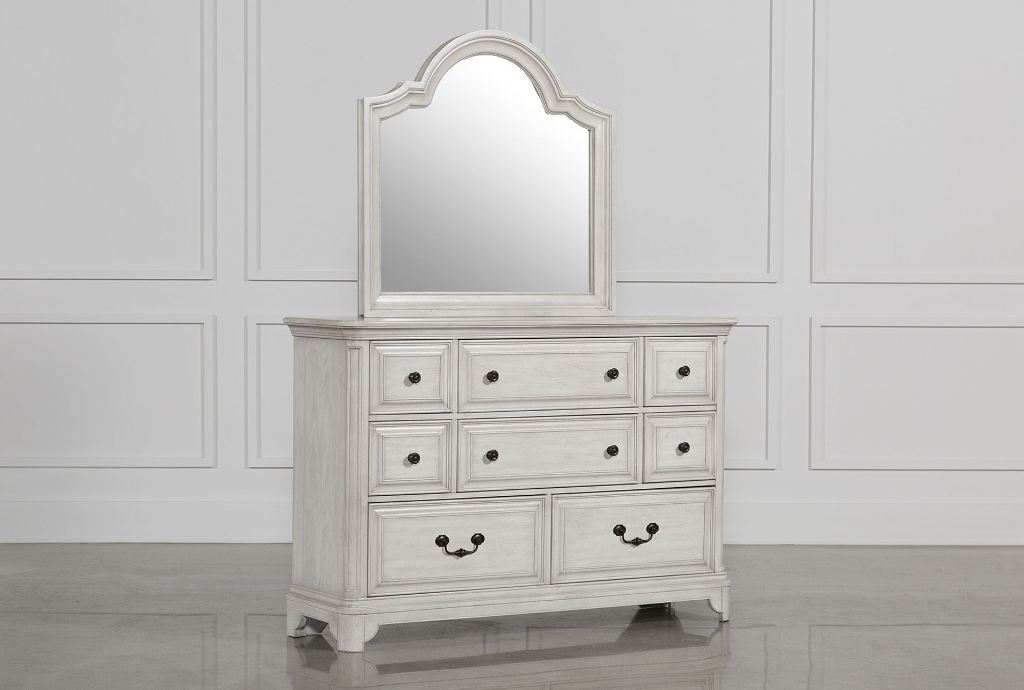 Cheap White Dressers With Mirrors