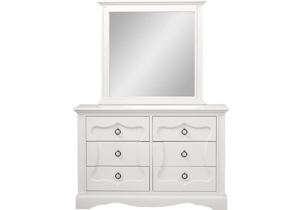 Picture of: Modern Dresser With Mirror White Ideas