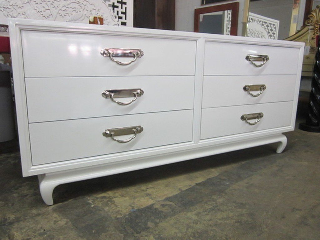 Elegant White Bedroom Dresser