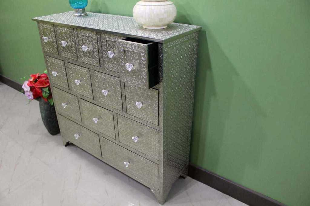 Embossed Metal Furniture