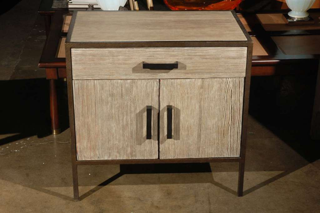Picture of: Embossed Nightstand