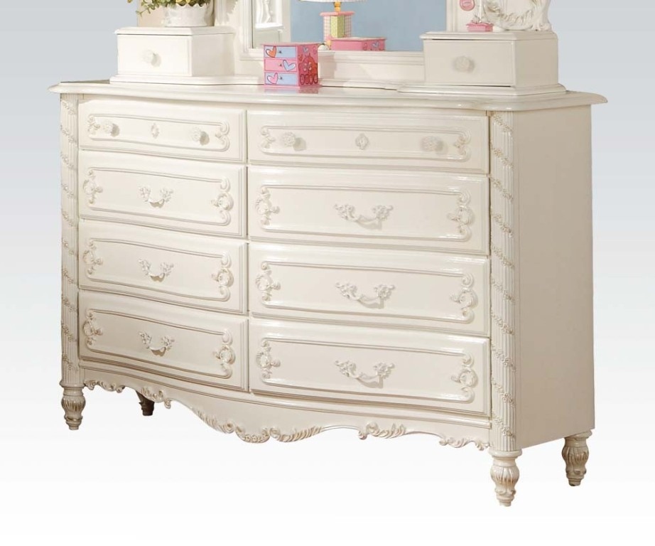 Picture of: Girls White Dresser