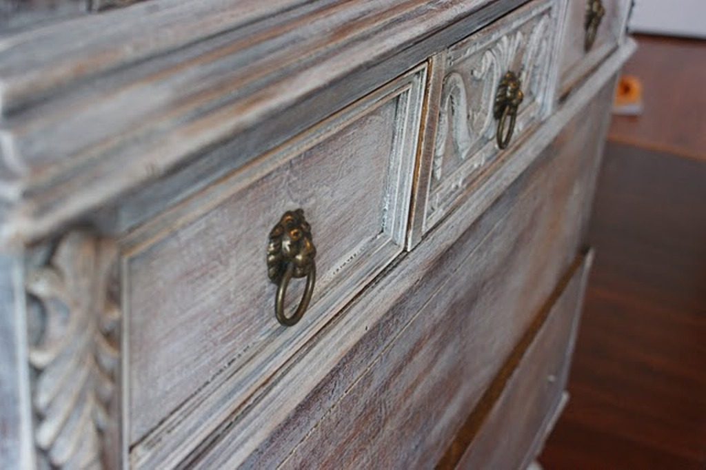 Picture of: How To Whitewash Furniture With Color