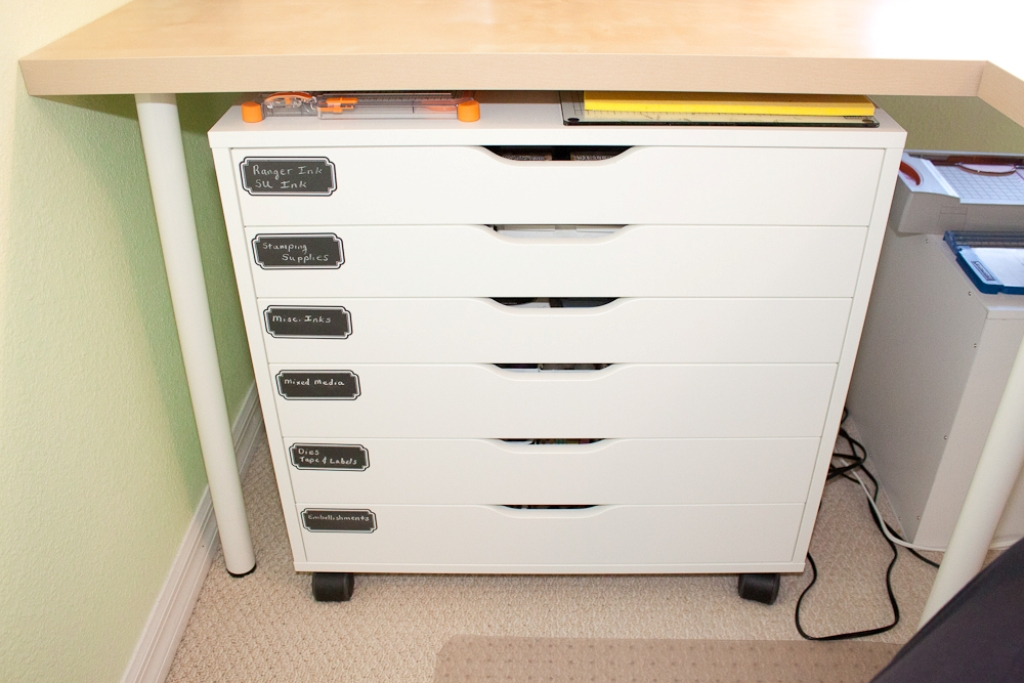 Picture of: Ikea Alex 6 Drawer