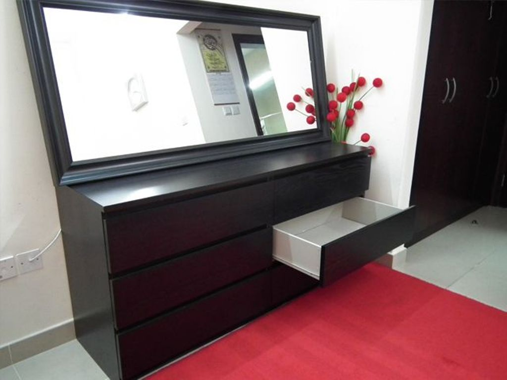 Picture of: Ikea Dresser With Mirror Decoration