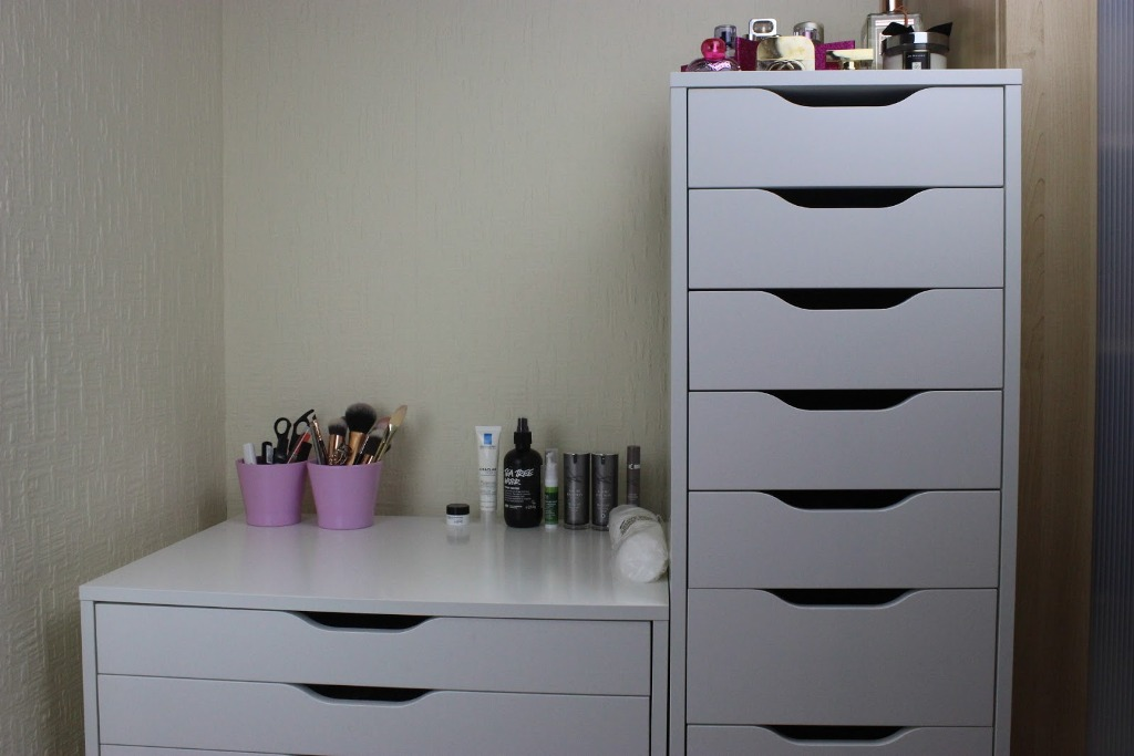 Picture of: Ikea Makeup Drawers